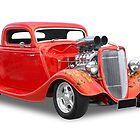 Ford - Hotrod by axemangraphics