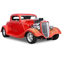 Ford - Hotrod Photographic Print