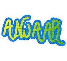 Anwaar Graffiti Photographic Print