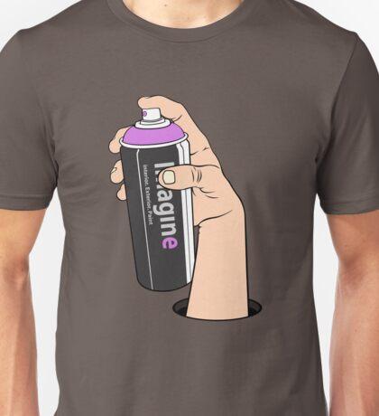 imagine vs. vandal Unisex T-Shirt