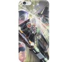 Batman and Robin Vs. Green Hornet and Kato iPhone Case/Skin