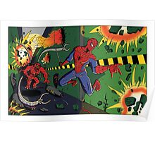 Spider-Man vs. Monster Ock Poster