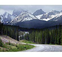 On Spray Lake Trail Photographic Print