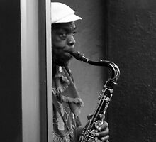 Street Sax by Chet  King