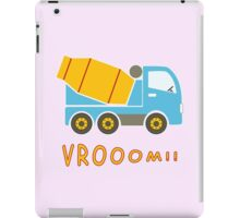 Cement mixer truck iPad Case/Skin