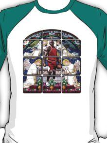 Michael Jordan w/ church glass stained windows T-Shirt