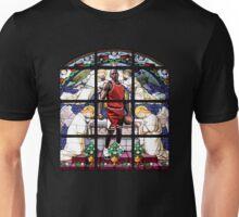 Michael Jordan w/ church glass stained windows Unisex T-Shirt