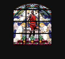 Michael Jordan w/ church glass stained windows Unisex T-Shirt