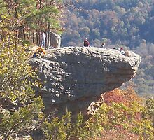 "hawksbill crag ""whiticker point"" by kirby anderson"