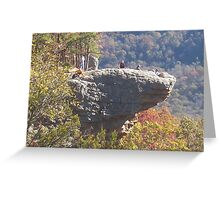 "hawksbill crag ""whiticker point"" Greeting Card"