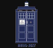 Hello Sexy (TARDIS) by Anglofile