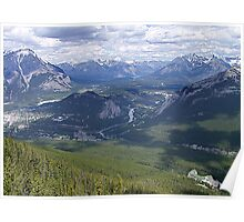 Banff and The Bow River Valley Poster