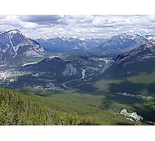 Banff and The Bow River Valley Photographic Print