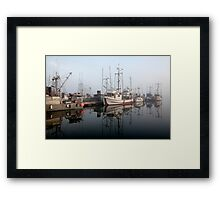 Fisherman's Wharf Framed Print