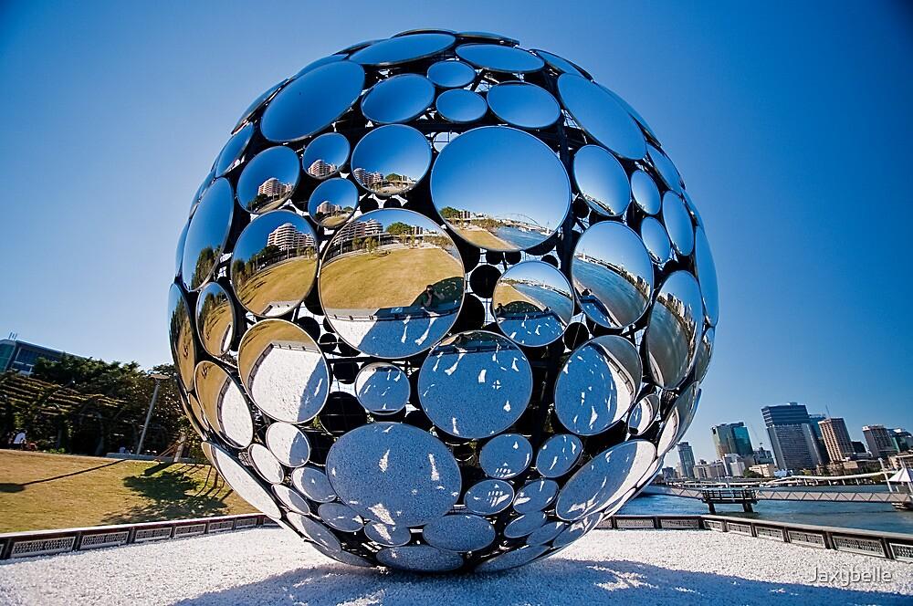Golden Casket Light Sphere, Brisbane Festival 2011 (3 of 11) copy by Jaxybelle