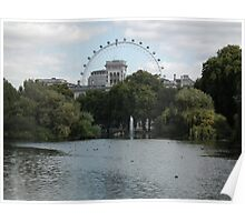St. James Park fountain Poster