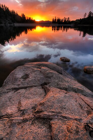 Solid Sunset by Bob Larson