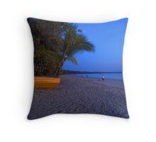 Four Mile Beach Port Douglas Throw Pillow