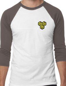 Macross Frontier SMS Civilian Military Provider Men's Baseball ¾ T-Shirt