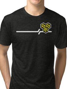 Macross Frontier SMS Civilian Military Provider Tri-blend T-Shirt