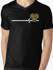 Macross Frontier SMS Civilian Military Provider Mens V-Neck T-Shirt
