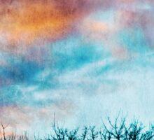 February Sky Sticker
