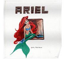 Ariel Little Tidal Waves Mermaid Tori Amos Poster