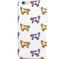 Retro Golden Retriever Pattern iPhone Case/Skin
