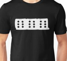 666 Dice - White Unisex T-Shirt