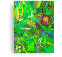 Green Euphoria Canvas Print