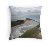 Castlerock ( 2 ) - Castlepoint New Zealand Throw Pillow