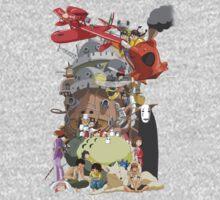 Studio Ghibli Characters Kids Tee