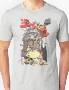 Studio Ghibli Characters Unisex T-Shirt