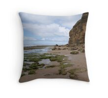 Colours at the Beach Throw Pillow