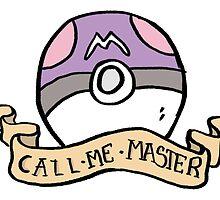 Naughty Pokeball - Masterball by nerdprints