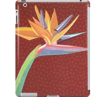 Strelitzia reginae iPad Case/Skin