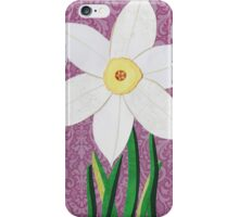 Narcissus pseudonarcissus iPhone Case/Skin