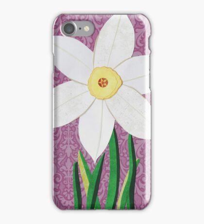 Narcissus pseudonarcissus iPhone Case/Skin