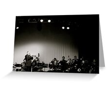 James Morrison +Band Greeting Card