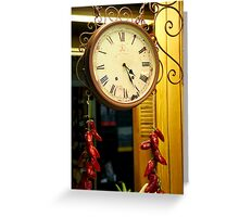 Time to Spice Up Your Life Greeting Card