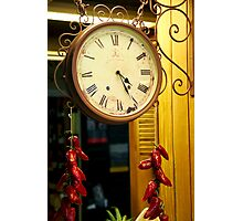 Time to Spice Up Your Life Photographic Print