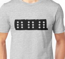 666 Black Unisex T-Shirt