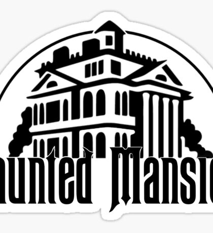 Haunted Mansion Sticker