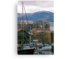 Victoria Dock, Hobart—Kodachrome 64 Canvas Print