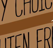 My Choice Gluten Free Sticker