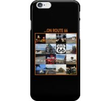...on Route 66 iPhone Case/Skin