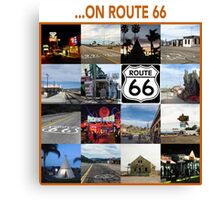 ...on Route 66 Canvas Print