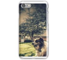mans best friend iPhone Case/Skin