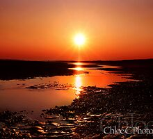 Camber Sunset by Chloe  Chudasama