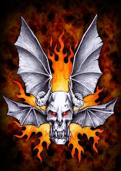Demon Bat by beanarts